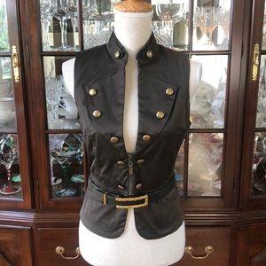 Tops - Olive green vest